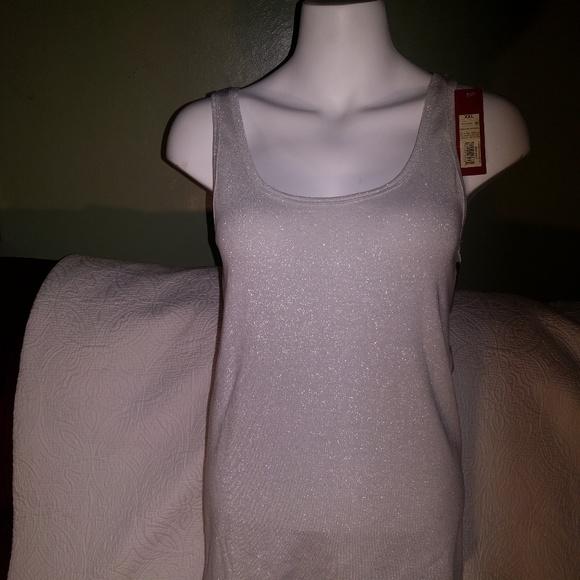 Merona White Men/'s Fashion Tank Top Tag Free Sz XL